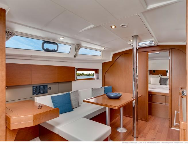 Discover Split region surroundings on this Oceanis 38 Bénéteau boat