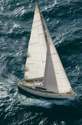 Discover Aegean surroundings on this Oceanis 40 Bénéteau boat