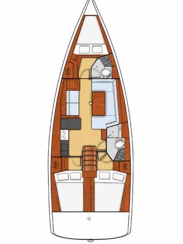 Boat for rent Bénéteau 40.0 feet in Marina Alimos (Kalamaki), Greece