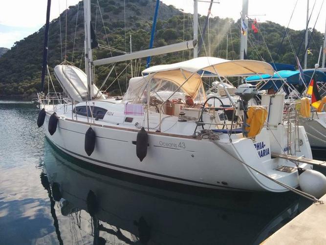 Boat for rent Bénéteau 42.0 feet in Aegean, Turkey