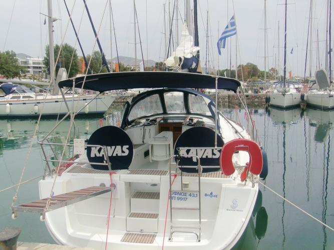 This 42.0' Bénéteau cand take up to 8 passengers around Saronic Gulf