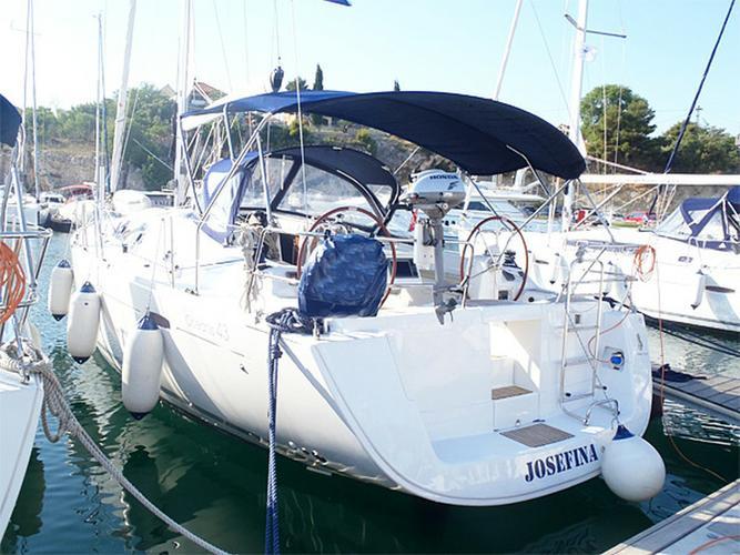 Boat for rent Bénéteau 42.0 feet in Yachtclub Seget (Marina Baotić), Seget Donji,