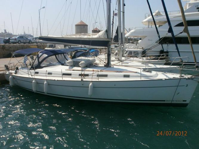 Rent this Bénéteau Cyclades 43.4 for a true nautical adventure