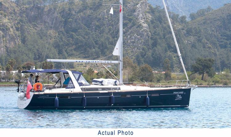 Boating is fun with a Beneteau in Aegean