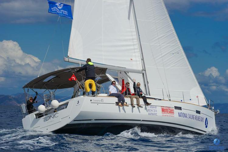 Beneteau boat for rent in Aegean