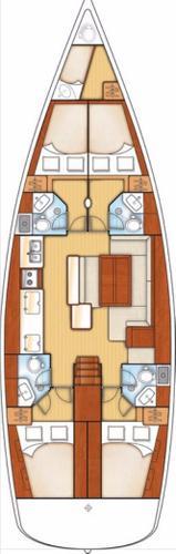 Beneteau boat for rent in Aegean