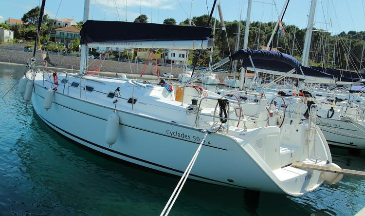 This 51.0' Bénéteau cand take up to 11 passengers around Split region