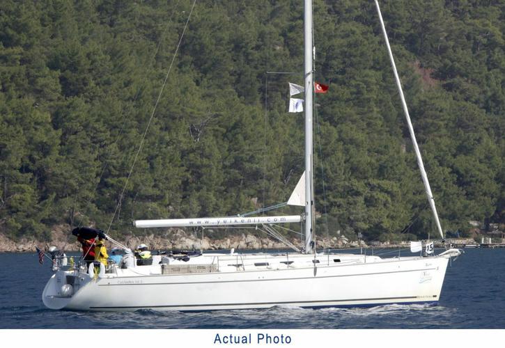 Bénéteau's 51.0 feet in Aegean