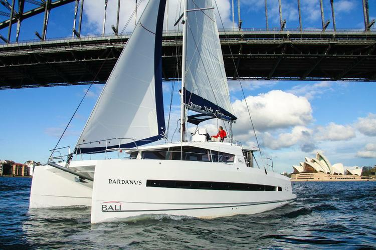 Unique experience on this beautiful Catana Bali 4.3