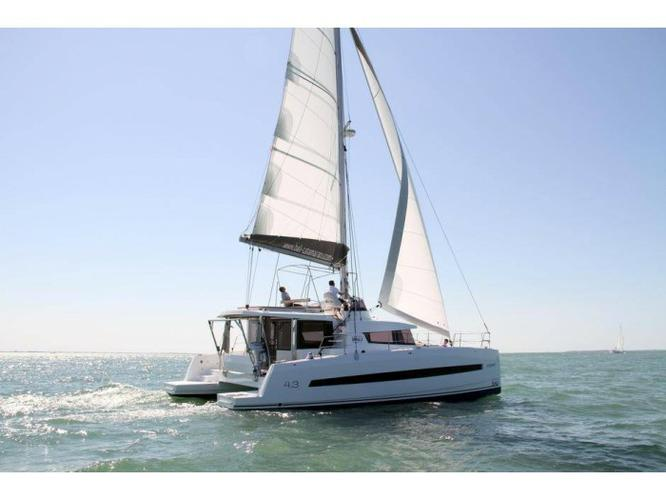 Catana's 42.0 feet in Saronic Gulf