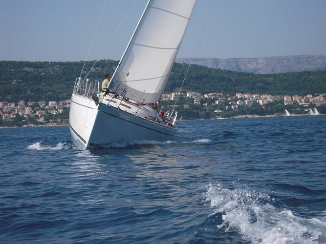 This 46.0' Comar Yachts cand take up to 9 passengers around Split region