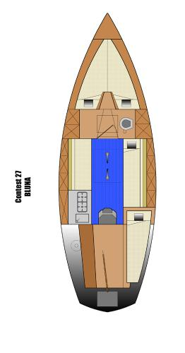 Discover Istra surroundings on this Contest 27 Contest Yachts boat