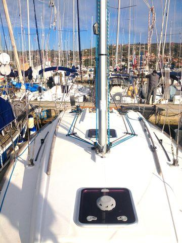 Discover Primorska  surroundings on this Dufour 325 GL Dufour Yachts boat