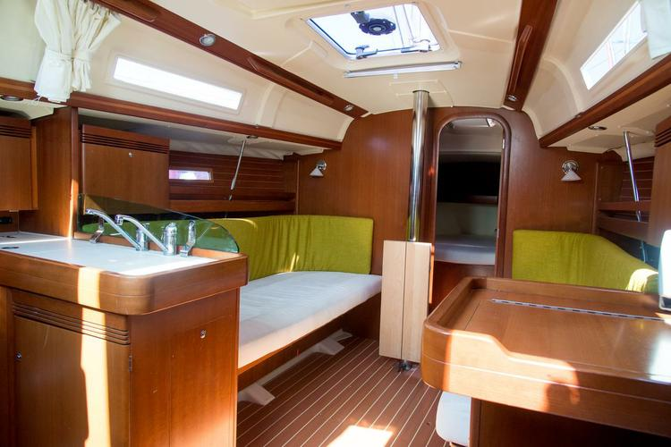 Discover Macedonia surroundings on this Dufour 34 Dufour Yachts boat