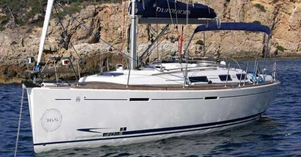 35.0 feet Dufour Yachts in great shape
