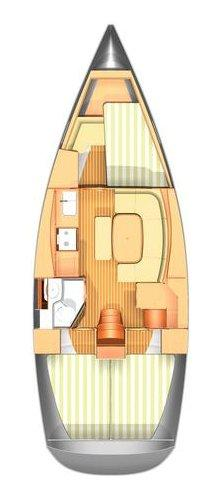 Boat for rent Dufour Yachts 35.0 feet in Marina Mandalina, Sibenik,