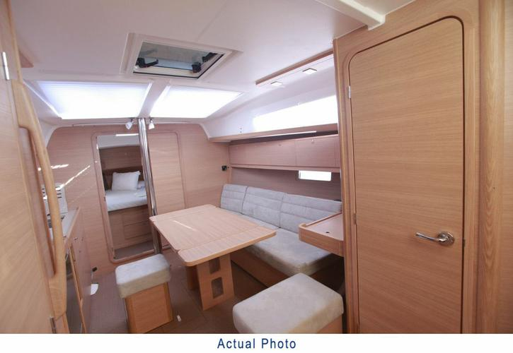 Discover Aegean surroundings on this Dufour 382 GL Dufour Yachts boat