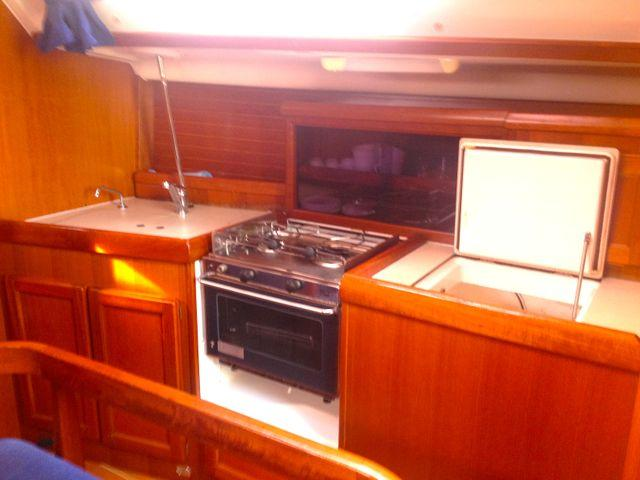 This 36.0' Dufour Yachts cand take up to 8 passengers around Primorska