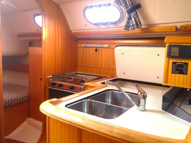Discover Primorska  surroundings on this Gib Sea 37 Dufour Yachts boat