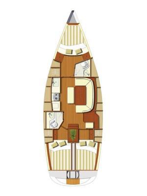 Boat for rent Dufour Yachts 38.0 feet in Marina Kastela, Kastela,