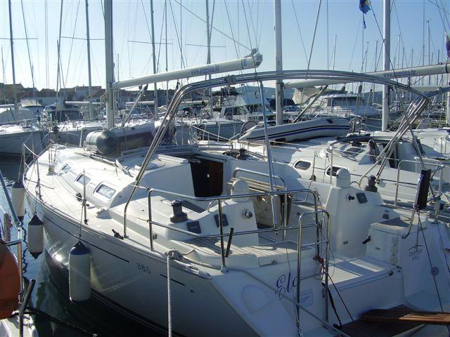 Boat for rent Dufour Yachts 38.0 feet in Marina Sangulin, Biograd,