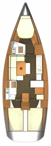 39.0 feet Dufour Yachts in great shape