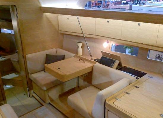 Discover Aegean surroundings on this Dufour 410 GL Dufour Yachts boat