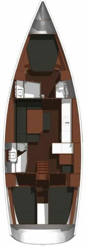 Discover Aegean surroundings on this Dufour 445 GL Dufour Yachts boat