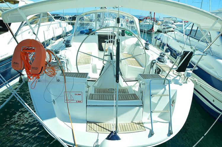 All you need to do is relax while on board our Dufour Yachts