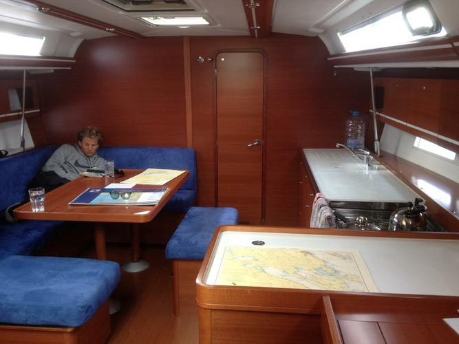 Discover Split region surroundings on this Dufour 445 GL Dufour Yachts boat