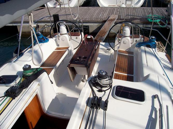 Discover Campania surroundings on this Dufour 455 GL Dufour Yachts boat