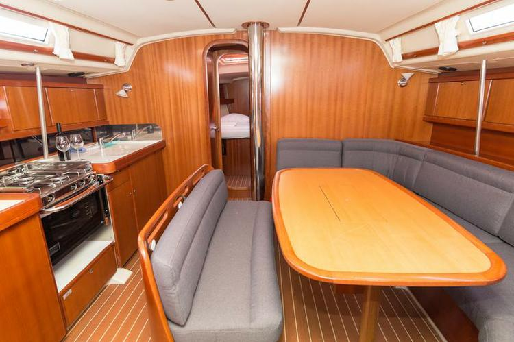 Discover Split region surroundings on this Dufour 455 GL Dufour Yachts boat