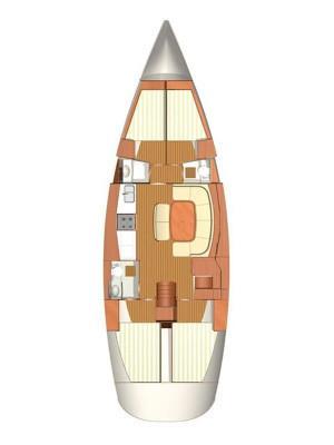 Discover Šibenik region surroundings on this Dufour 500 GL Dufour Yachts boat