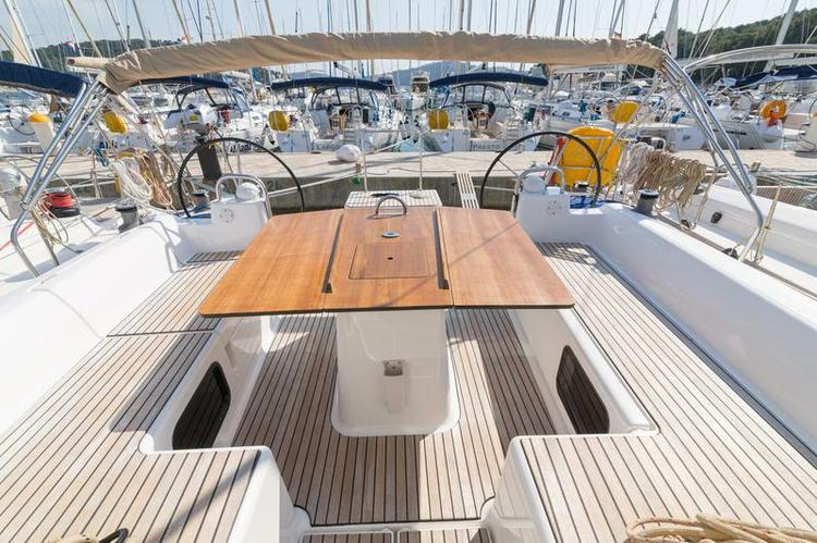 Boat for rent Dufour Yachts 48.0 feet in Marina Kastela, Kastela,