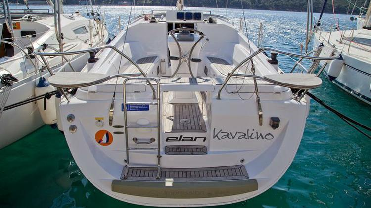 Boat for rent Elan Marine 34.0 feet in Marina Mali Losinj, Croatia