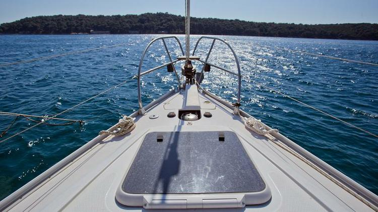 Discover Kvarner surroundings on this Elan 344 Impression Elan Marine boat