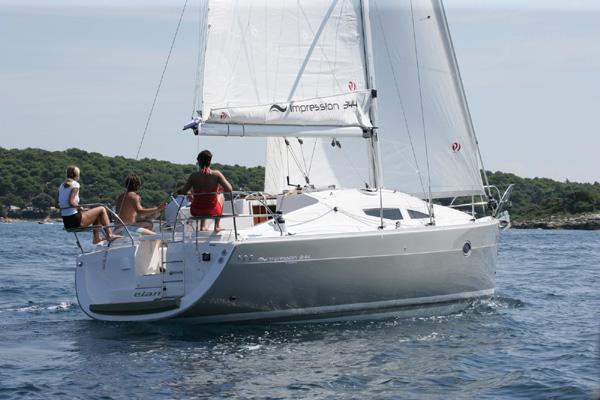 Discover Šibenik region surroundings on this Elan 344 Impression Elan Marine boat