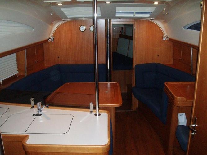 Discover Ionian Islands surroundings on this Elan 384 Impression Elan Marine boat