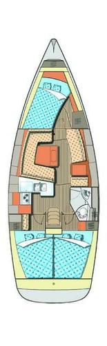 Discover Šibenik region surroundings on this Elan 384 Impression Elan Marine boat