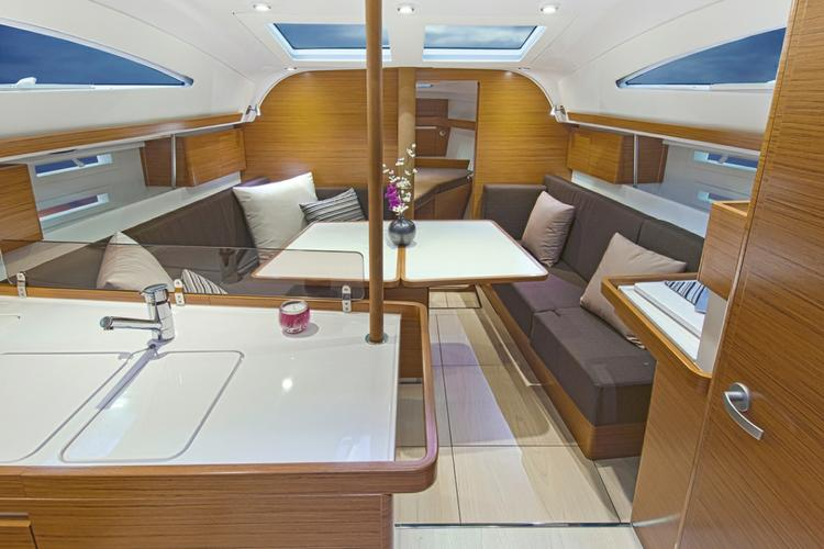 Discover Split region surroundings on this Elan Impression 40 Elan Marine boat