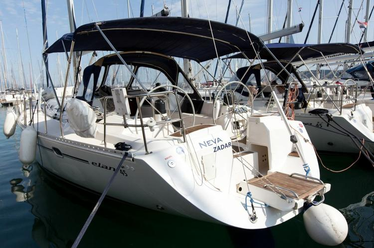 Sail Split region waters on a beautiful Elan Marine Elan 45
