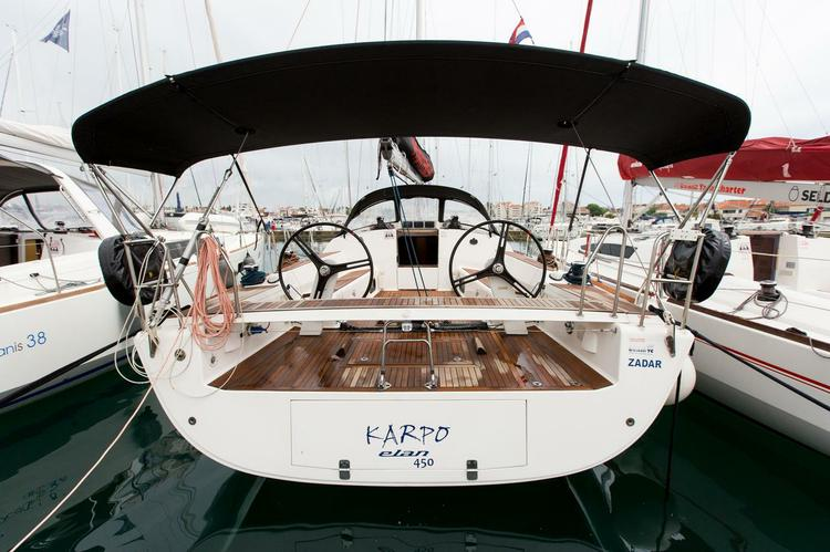 Boat for rent Elan Marine 44.0 feet in Marina Kornati, Biograd, Croatia