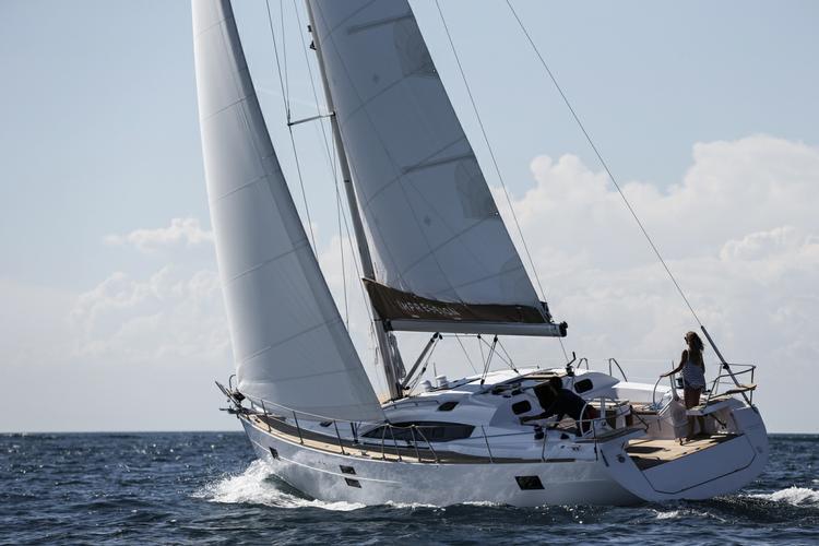 Discover Aegean surroundings on this Elan Impression 45 Elan Marine boat