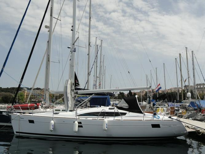 Get on the water and enjoy Istra in style on our Elan Marine