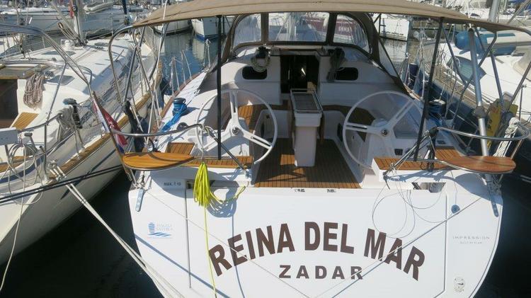 Discover Zadar region surroundings on this Elan Impression 45 Elan Marine boat
