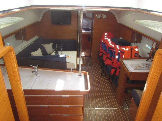 Discover Zadar region surroundings on this Elan 444 Impression Elan Marine boat