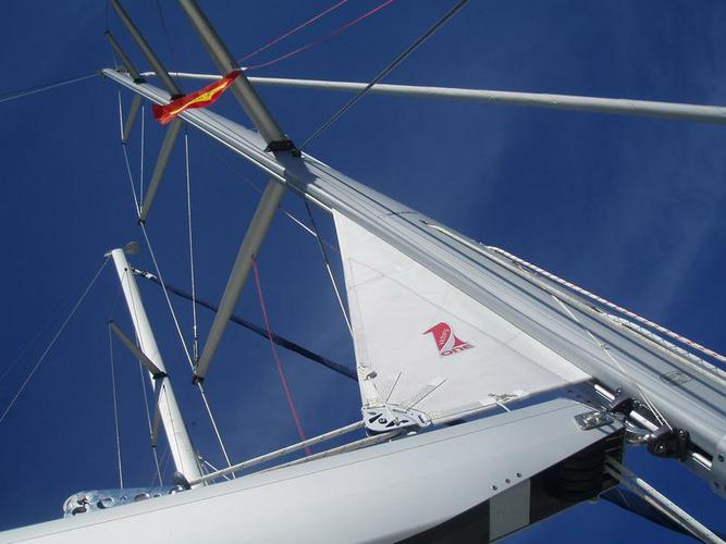 Discover Saronic Gulf surroundings on this Elan 514 Impression Elan Marine boat
