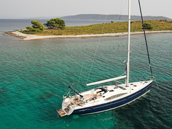 Discover Split region surroundings on this Elan 514 Impression Elan Marine boat