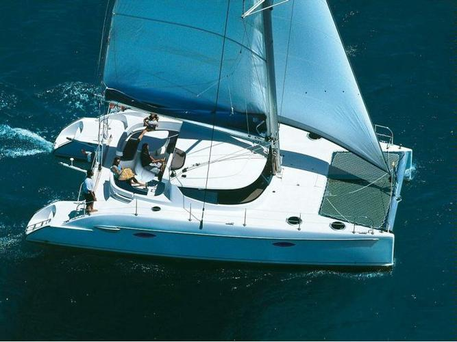 Enjoy Campania in style on our Fountaine Pajot