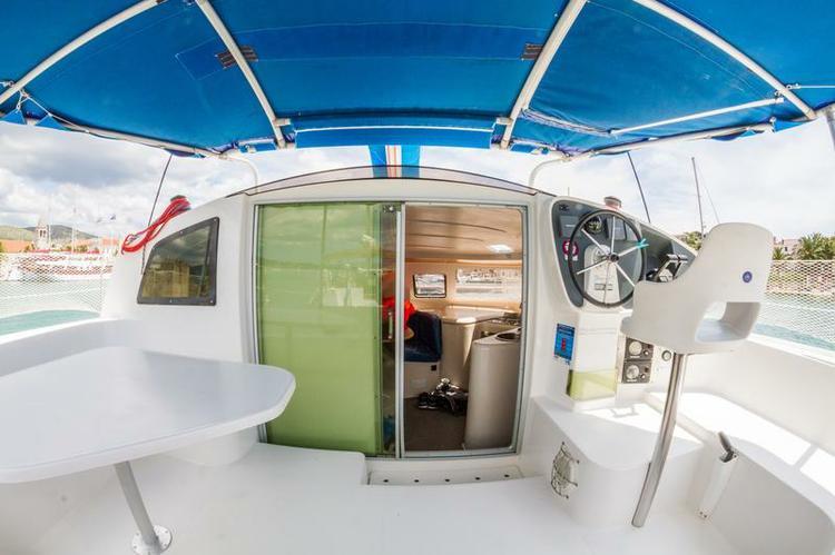Boating is fun with a Catamaran in Split region